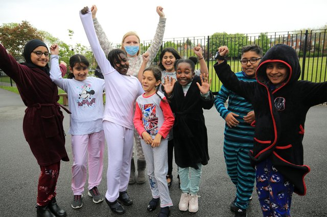PJ day at Tinsley Meadows Primary Academy. Picture: Chris Etchells