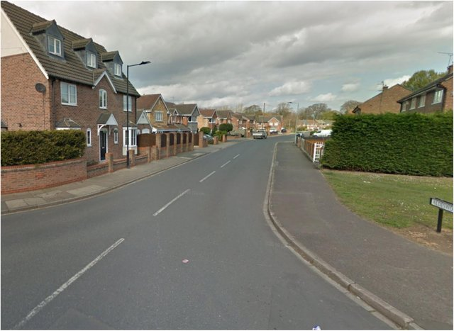 Aldesworth Road in Cantley.