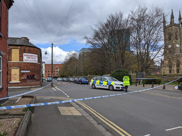 Police cordon remains in place as investigation into the fatal shooting is underway.