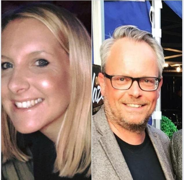 Helen Hancock (nee Almey), 39, and Martin Griffiths, 48
