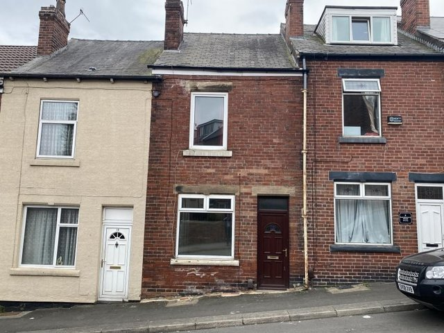 The terraced house in Wincobank sold at auction for £72,500.