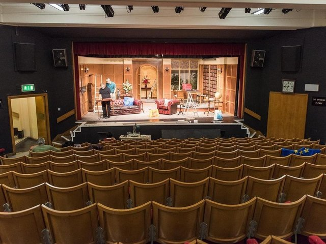 Sheffield's Library Theatre - theatres and libraries are among the arts venues which benefit from funding
