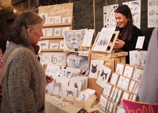 A previous Etsy Made Local Market in Sheffield. Image taken by team member Heather of Heather Isobel Photography (www.www.heatherisobel.co.uk)