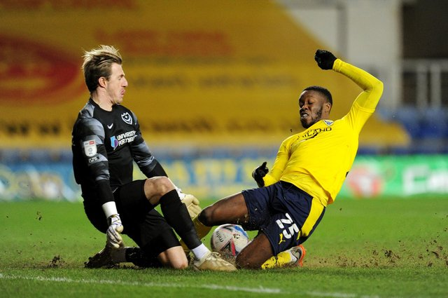 Olamide Shodipo is a target for Sheffield Wednesday. (Photo by Alex Burstow/Getty Images)