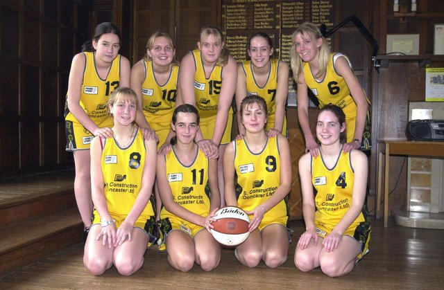 Which youngsters can you spot in these retro pictures from 20 years ago?  St Mary's School girls basketball team is, back row, from left) Yasmin Alloub, Jenny Ward, Terri Chandler, Victoria Foster and Rebecca Harrison; front, Emma Brocklehurst, Rachel Langan, Natalie Gyte and Louise Curran.