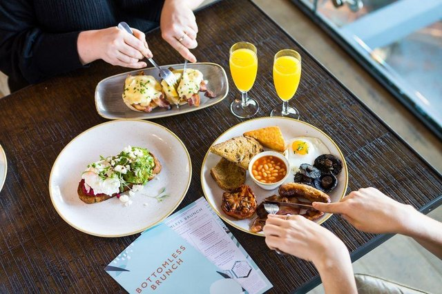 We've put together a list of the top bottomless brunch spots in the city.