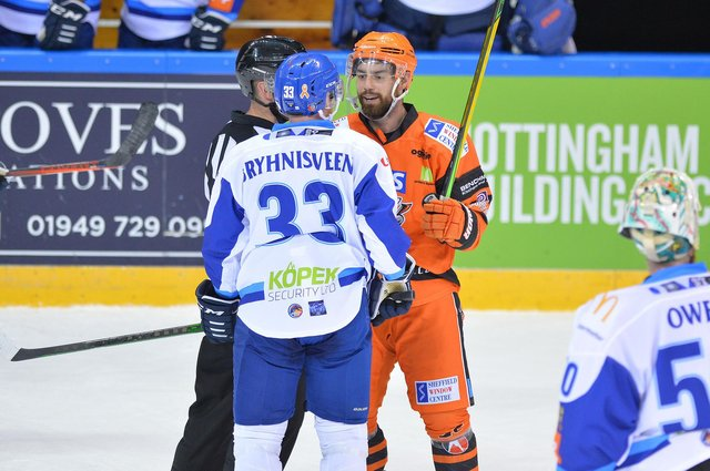 Jérémy Beaudry has moved on from Sheffield Steelers to pick up a contract in Slovakia. Picture by Dean Woolley