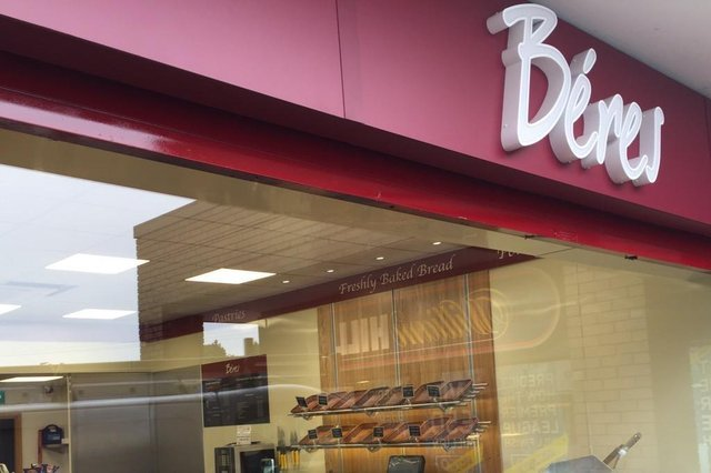 Beres only opened its 13th shop in Sheffield last month