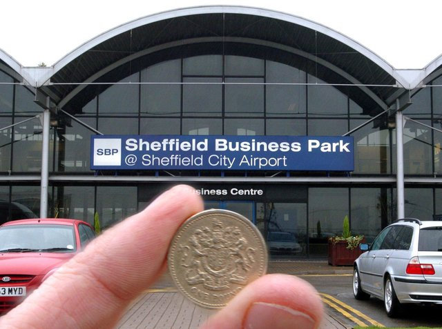 Sheffield City Airport is today a business park after the site was sold for just £1