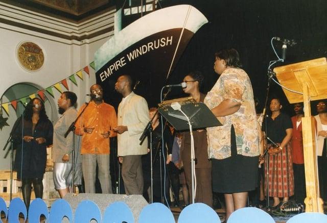 Sheffield Windrush celebrations at Sheffield City Hall, 1998 (U06383)