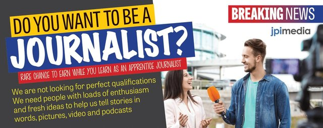 A chance to earn as you learn, gaining a professional journalism experience.