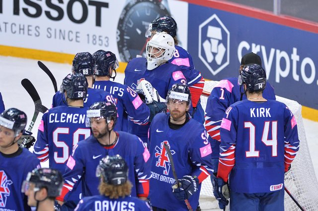 Great Britain lost narroly to Denmark on Tuesday evening