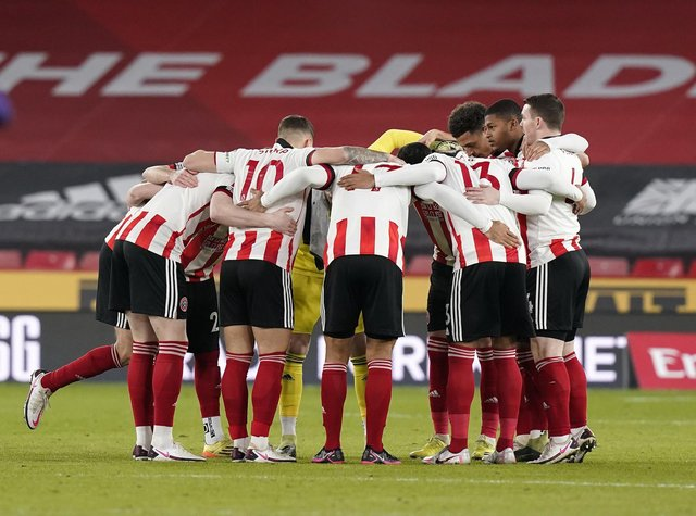 Sheffield United's players have been told to stick together: Andrew Yates/Sportimage