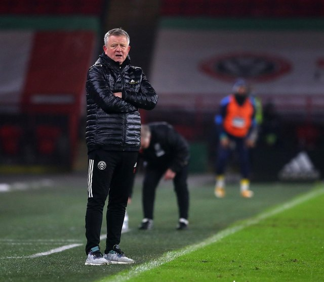 Chris Wilder has defended his transfer policy at Sheffield United: Simon Bellis/Sportimage