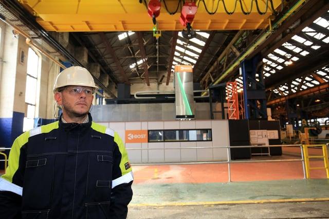Bost. Sheffield Forgemasters International Ltd. Picture: Chris Etchells