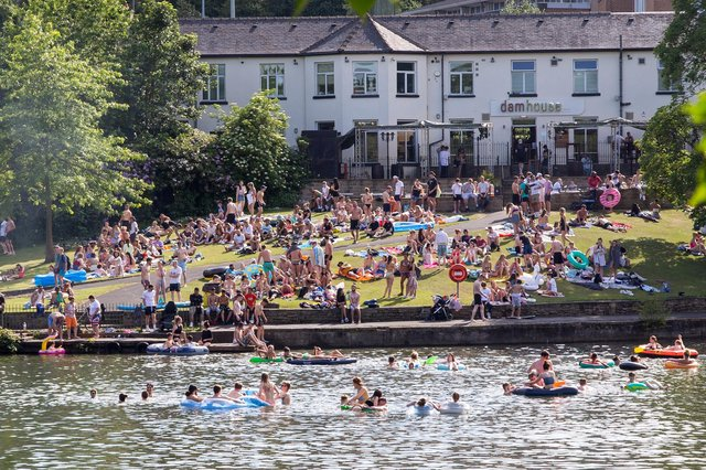 Hundreds of people are flocking to Crookes Valley Park but residents say it's creating havoc