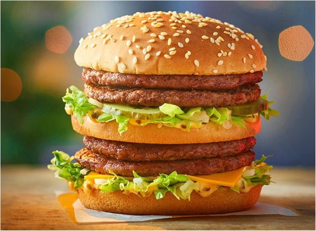 The Double Big Mac is at McDonald's this Christmas.