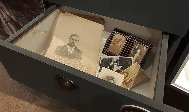 Unusually the collection features items relating to Swanson's personal as well as professional life.