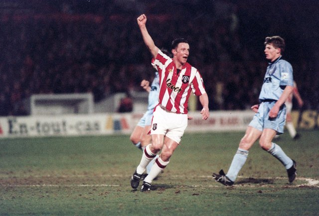 Better known as 'Jock', Bryson scored twice against Spurs on this day in 1993