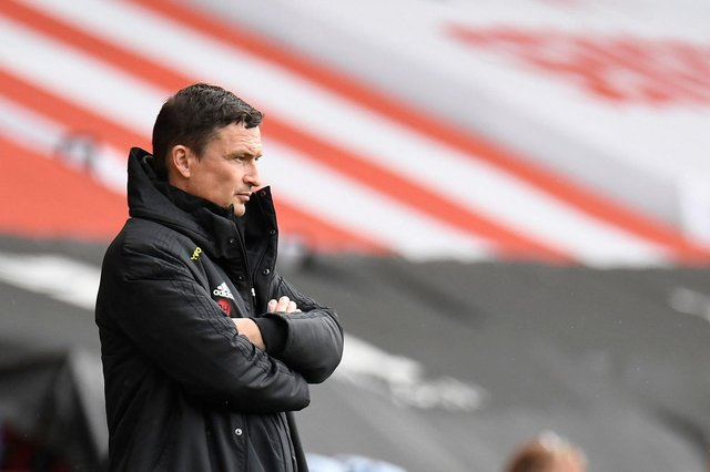 Sheffield United's interim manager Paul Heckingbottom  (Photo by PETER POWELL/POOL/AFP via Getty Images)
