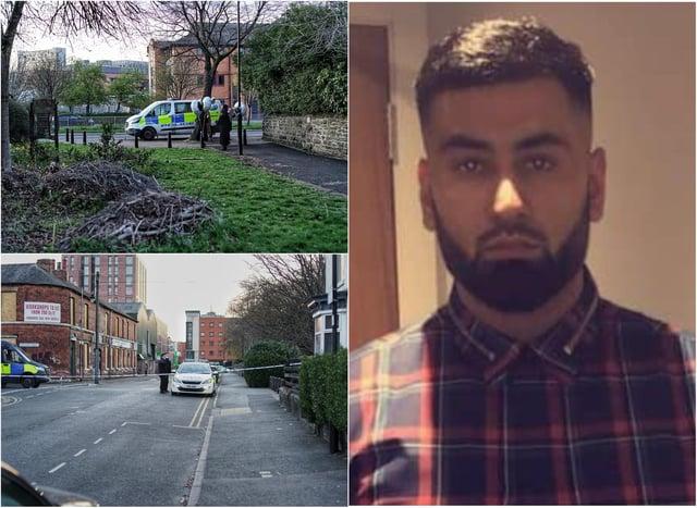 Khurm Javed was shot dead in Sheffield last week