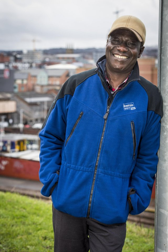 Maxwell Ayamba, a Sheffield-based academic, environmental journalist and campaigner.
