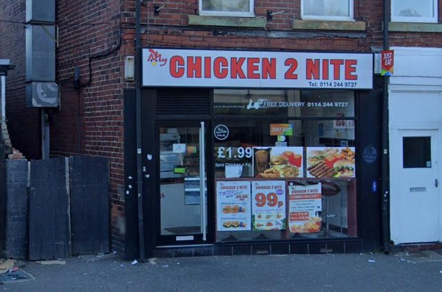 My Chicken 2 Nite, on Page Hall Road in Sheffield (pic: Google)