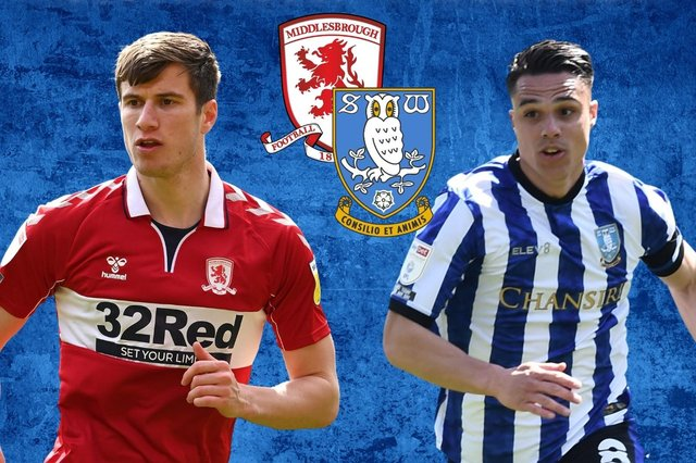 Sheffield Wednesday need a result away at Middlesbrough today.