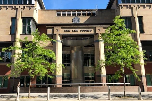 Sheffield Crown Court, pictured, heard how a Sheffield man who has been caught with indecent images of children faces all possible sentencing options.