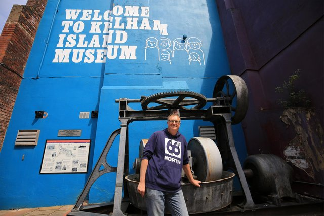 Author Peter Naldrett has written a book about islands which includes Kelham Island. Picture: Chris Etchells