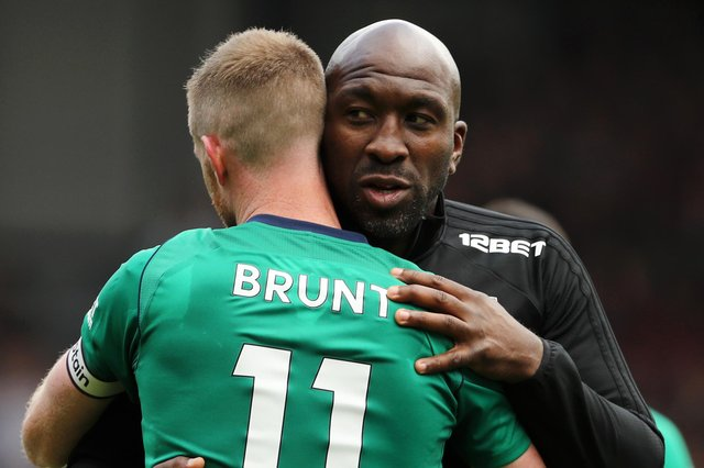 Chris Brunt knows Darren Moore well from their time together at West Bromwich Albion.