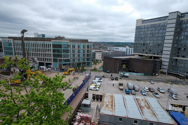 Views from the new rooftop bar Alto at Cubo on Carver Street