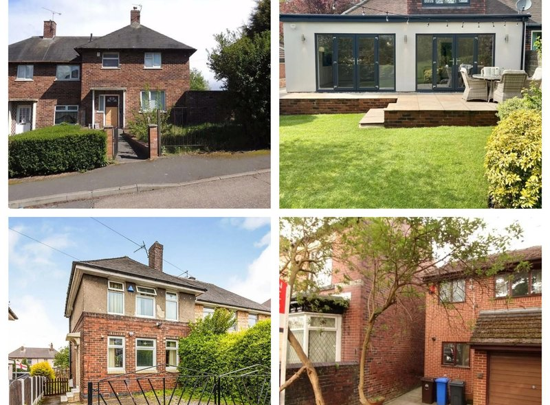 These are the most viewed houses in Sheffield for May, according to Zoopla.