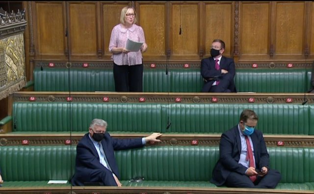 Gill Furniss, Labour MP for Brightside and Hillsborough, spoke during defence questions in the House of Commons.