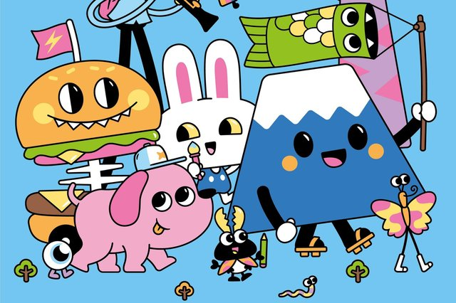 Characters from the Sheffield TADO design studio