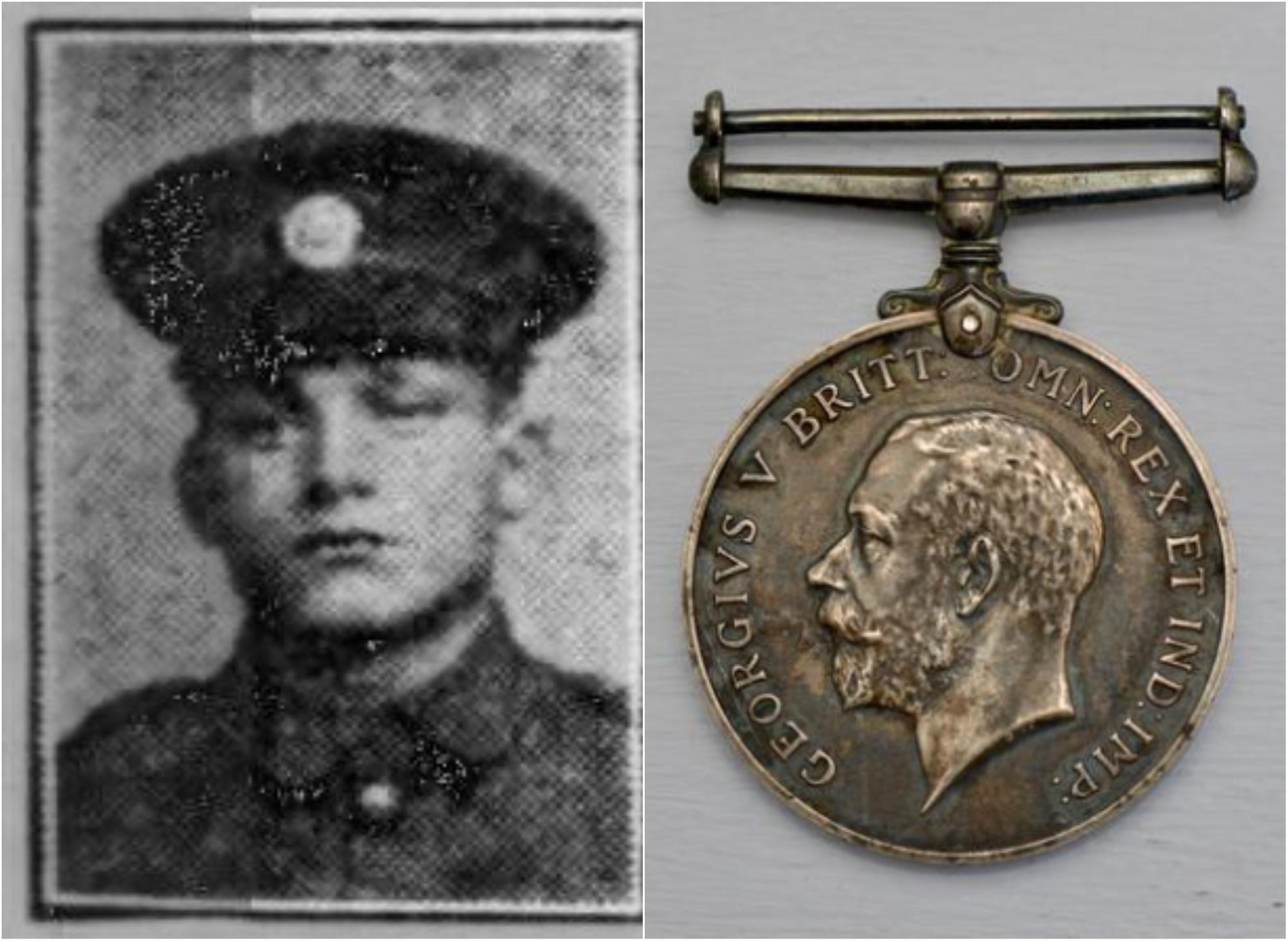 Appeal to find fallen Sheffield soldier's Great War medal after it was sold at auction for just £25