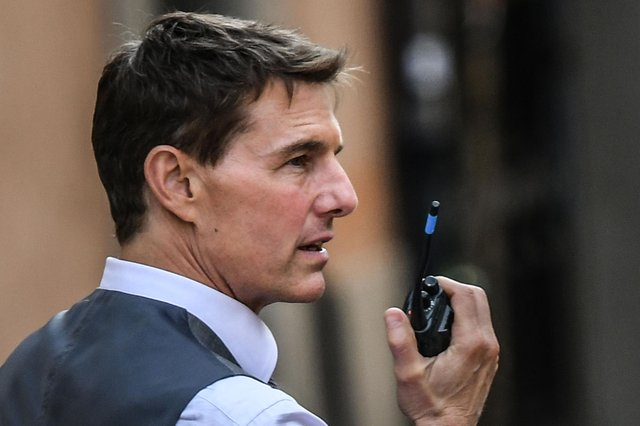 Tom Cruise has been shooting scenes for Mission Impossible 7 in Yorkshire (pic: Alberto Pizzoli/Getty Images)