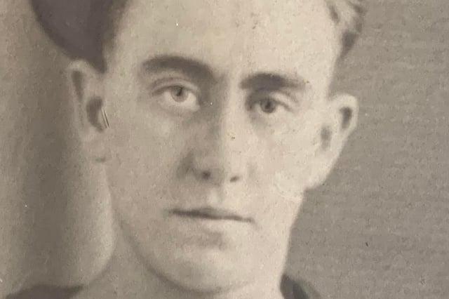 Frank Osborne died aged 22 on the HMS Barham which was torpedoed by a German U-boat in November 1941