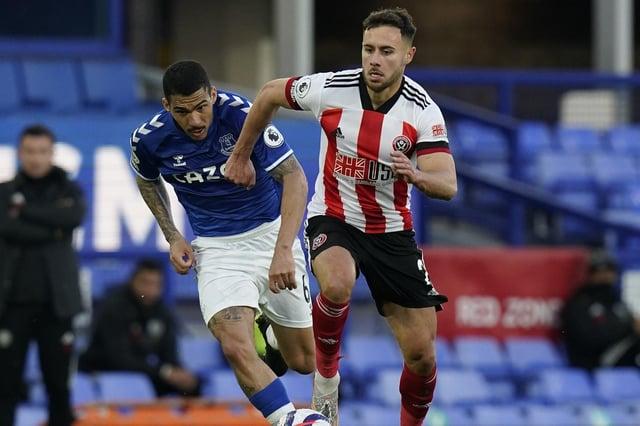 George Baldock in action for Sheffield United last season: Andrew Yates / Sportimage
