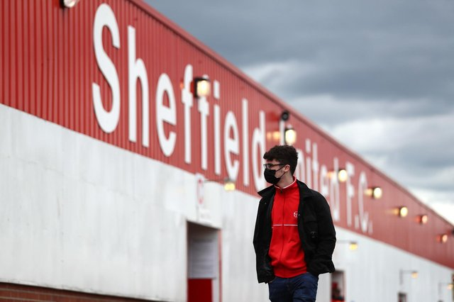 Blades fans will hopefully be allowed into Bramall Lane next season: Jan Kruger/PA Wire.