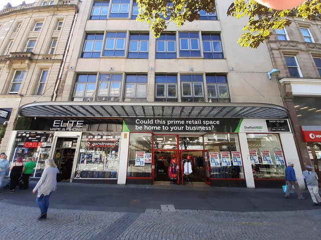 The new Event Central building on Fargate.