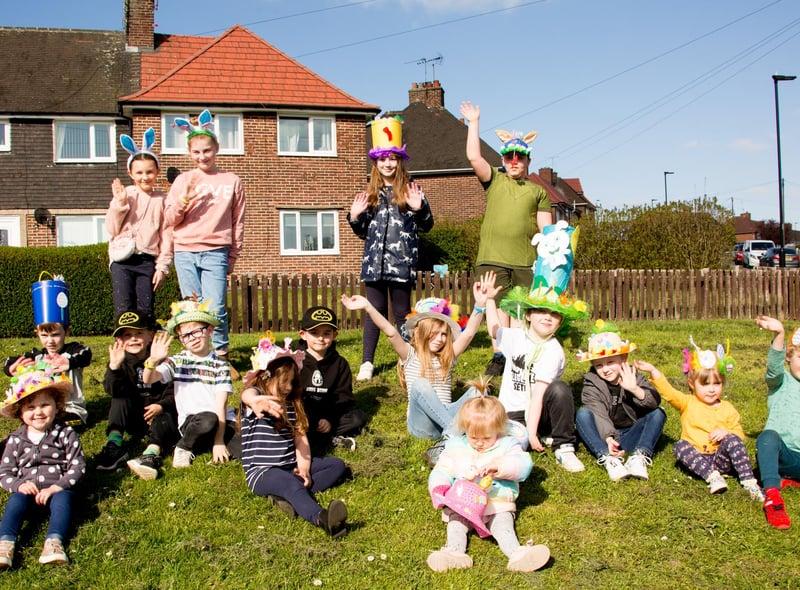 Mosborough children enjoy the Easter Parade