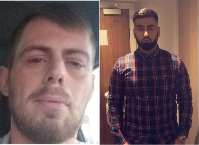 Sheffield murder victims Danny Irons and Khurm Javed, also known as Khuram
