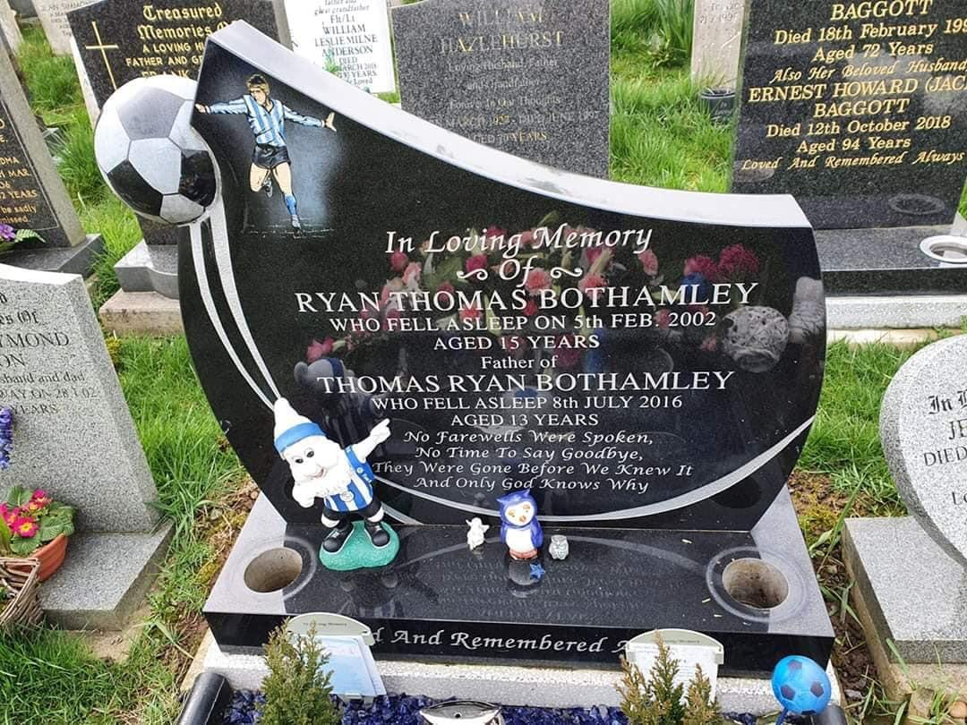 'Disgusting' thieves ransack grave of Sheffield Wednesday fan who died aged just 13
