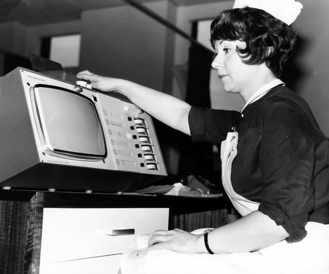 Coronary Care Unit, Royal Infirmary, 1971