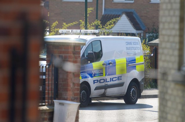 Crime scene investigation officers have been deployed to the Manor estate in Sheffield following the murder of a 32-year-old man (Photo: Dean Atkins)
