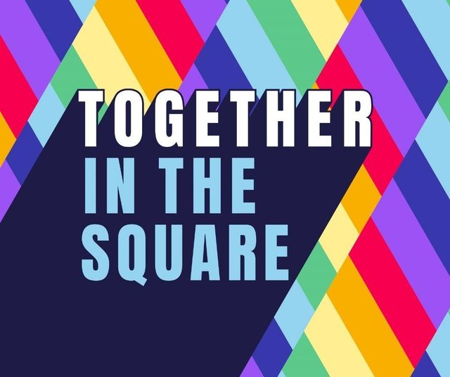 Together in the Square logo