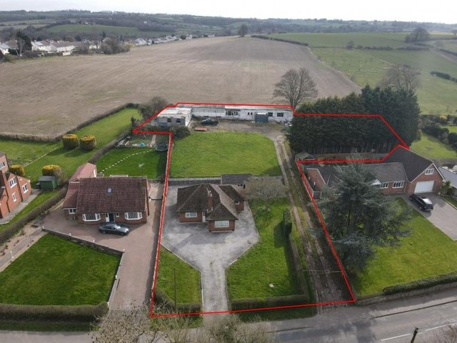 The land is on Hague Lane, Renishaw and is almost three quarters of an acre.