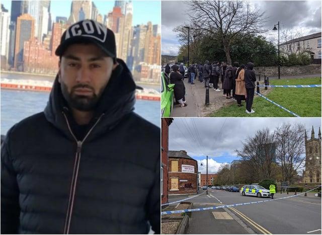 Khurm Javed was shot dead in Sheffield last weekend