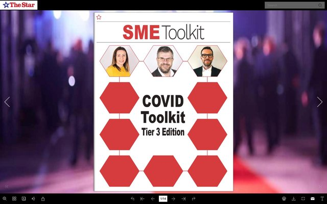 SME Covid Toolkit Tier Three Edition